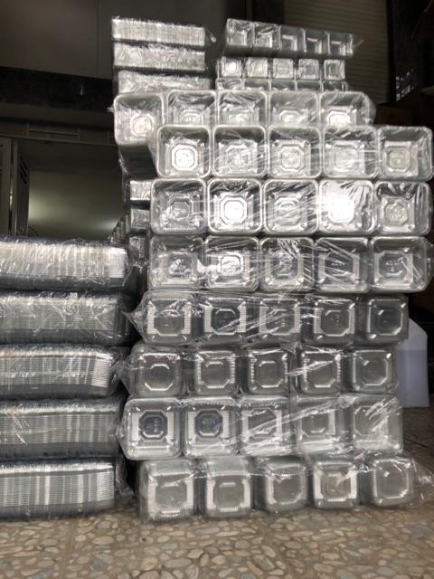 Khay nhựa đựng bánh trung thu số 10 cỡ 200g ( bịch 100 cái )
