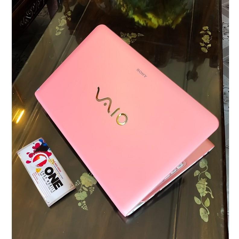 [ Siêu phẩm - Siêu Quyến Rũ ] Laptop Sony Vaio SVE15115EGP Pink cực đẹp, Core i5 3210M , Ram 8Gb , SSD 256Gb .