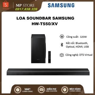 Loa soundbar Samsung HW-T550 2.1 ch, Công suất 320W thumbnail