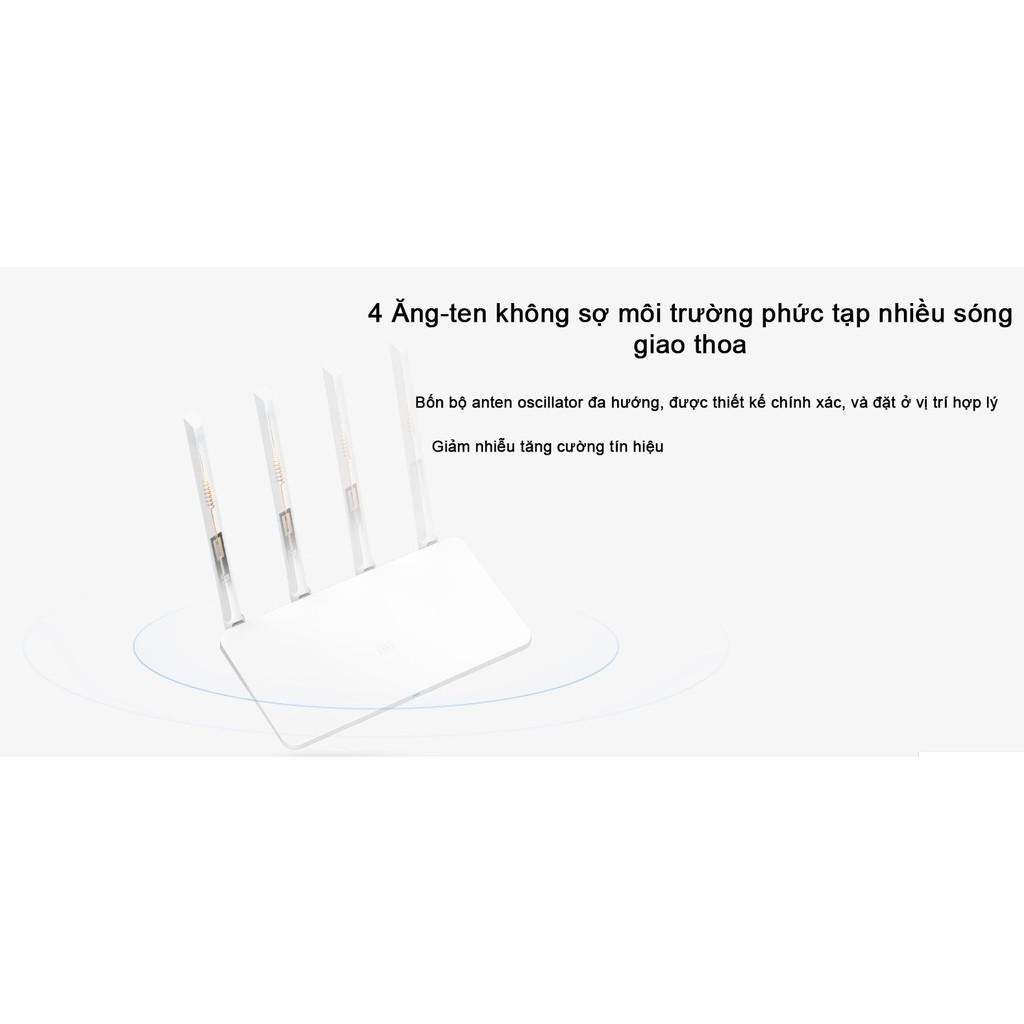 Bộ Phát Wifi Xiaomi Router Gen 3G - ROUTER XIAOMI MIWIFI 3G - BỘ THU PHÁT WIFI XIAOMI ROUTER 3G