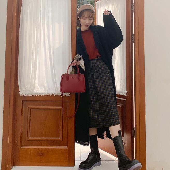 Túi Xách Nữ Công Sở Thời Trang MICOCAH Thiết Kế Thep Phong Cách Hàn Quốc Cực Đẹp Siêu Hót 2021-MC58-Mozuno