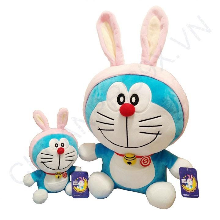 Gấu Bông Doraemon Thám Hiểm Mặt Trăng 2019 Size S