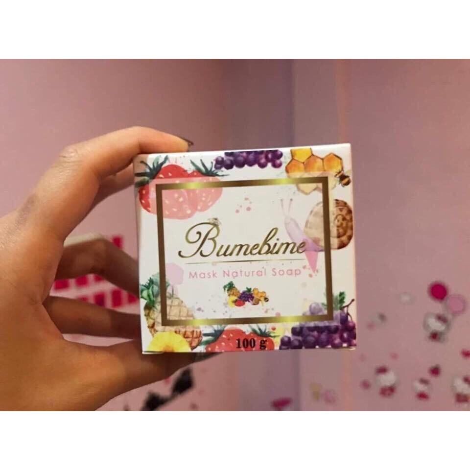 Xà phòng tắm trắng Thái Lan Bumebime Mask Natural Soap - 10086468 , 540244384 , 322_540244384 , 69000 , Xa-phong-tam-trang-Thai-Lan-Bumebime-Mask-Natural-Soap-322_540244384 , shopee.vn , Xà phòng tắm trắng Thái Lan Bumebime Mask Natural Soap