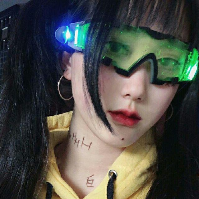 kính harajuku/ kính bảo hộ/kính thời trang
