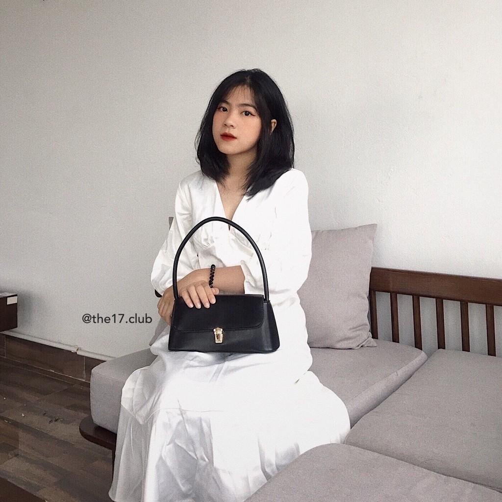 [Có sẵn] EVERYDAY SHOULDER BAG The 17 - Túi da khoác vai (ảnh shop tự thực hiện)