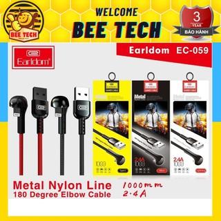 Cáp sạc chuyên chơi game, dây sạc nhanh Earldom EC-059 phong cách gaming - Beetech