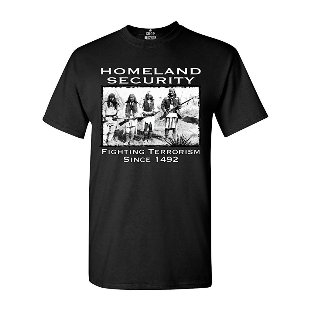 Men'S Homeland Security Fighting Terrorism Since 1492 Shirts Father's Day Gift