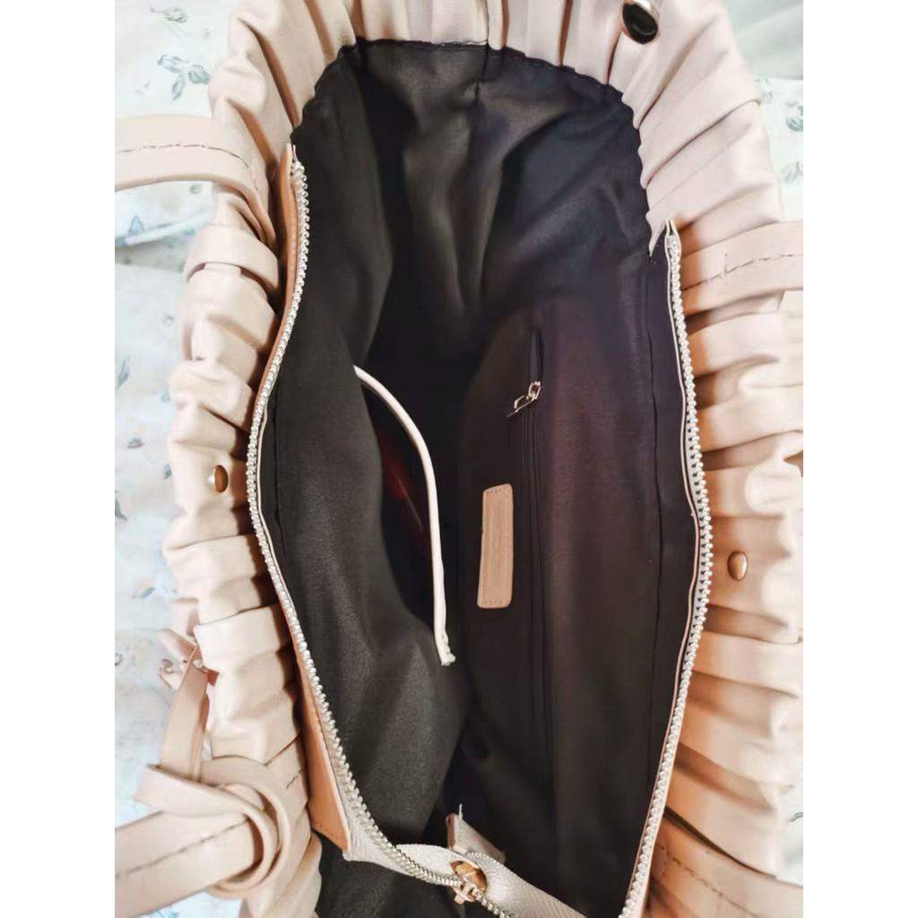 Micocah - [New] Túi xách Micocah dáng tote xếp ly thời trang size lớn MCC410