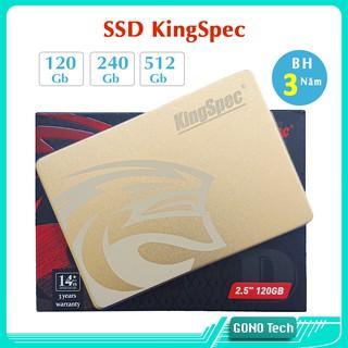 Ổ cứng SSD KingSpec 120Gb 240Gb 128Gb 256Gb 512Gb 2,5 inch SATA 3 | Mai Hoàng phân phối chính hãng | Mã P3 P4