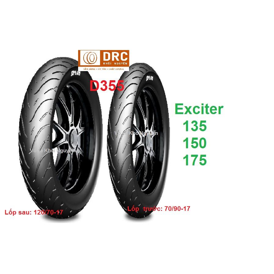 Cặp Lốp Exciter 70*90-17 & 120*70-17 CÔNG NGHỆ NHẬT BẢN JIS