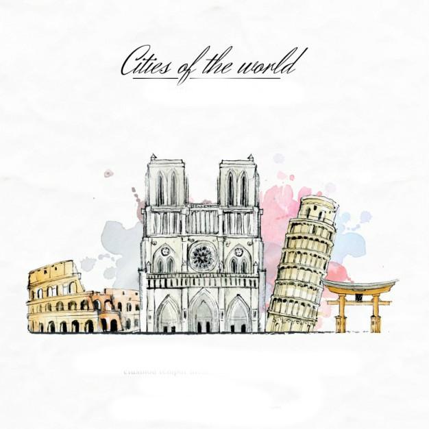 Mô hình giấy 3D CubicFun - France Style W3187h