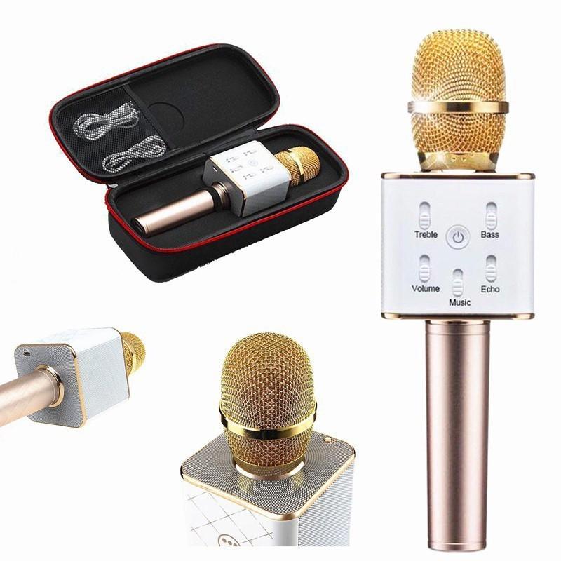 Micro Karaoke kèm loa bluetooth Q7 cực chuẩn 2018