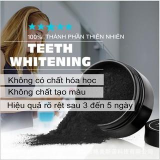 2Hộp Kem Đánh Trắng Răng Than Hoạt Tính TEETH WHITENING (100% thành phần tự nhiên)