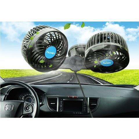 Quạt máy đôi mini 12V dùng cho ô tô - 22221964 , 2158378136 , 322_2158378136 , 160000 , Quat-may-doi-mini-12V-dung-cho-o-to-322_2158378136 , shopee.vn , Quạt máy đôi mini 12V dùng cho ô tô