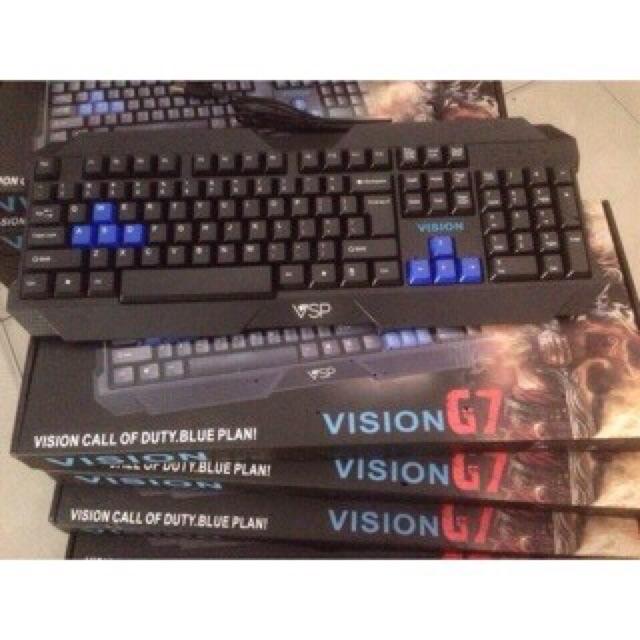 Combo 2 bàn phím Vision G7 - 3032426 , 255332088 , 322_255332088 , 166000 , Combo-2-ban-phim-Vision-G7-322_255332088 , shopee.vn , Combo 2 bàn phím Vision G7