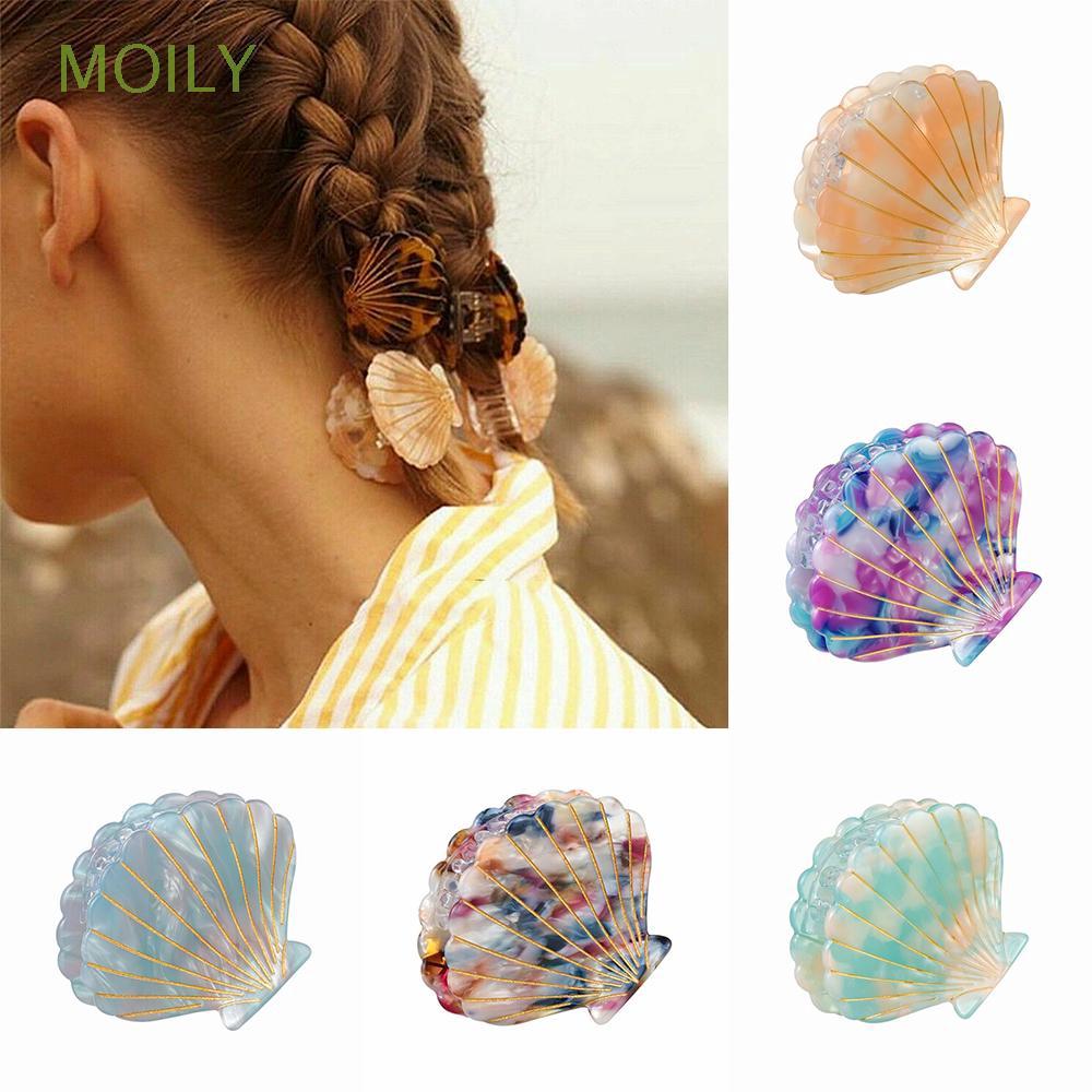 MOILY Hairgrips Barrette Girl Headwear Hair Crab Ponytail Hairpins Women Hair Accessories