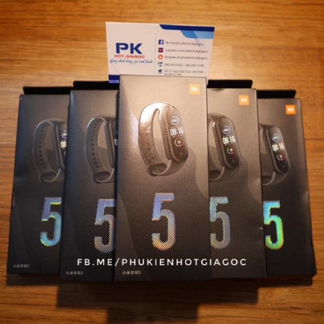 (Tiếng Việt)Vòng đeo tay sức khỏe Mi band 4 chính hãng Full tiếng Việt ( miband 4 miband4 )  / Mi band 5 ( Miband5 )