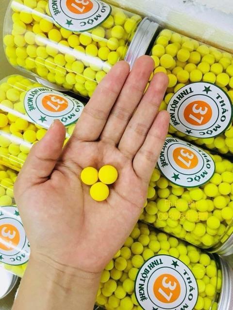 6 hũ nghệ to 500 viên tinh nghệ mật ong 37 của công ty thảo mộc 37