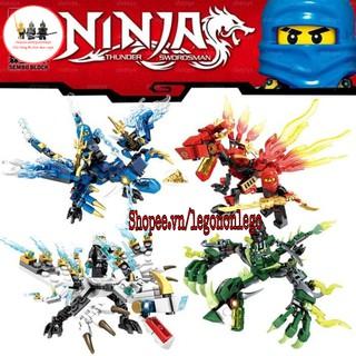 Xếp hình Lego rồng Ninjago hãng SEMBO và SY thumbnail