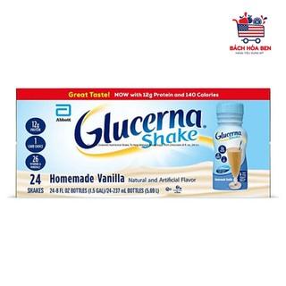 [Mã GROSALE2703 giảm 8% đơn 250K] [Thùng 24 chai] Sữa GLUCERNA VANI Mỹ dành cho người tiểu đường