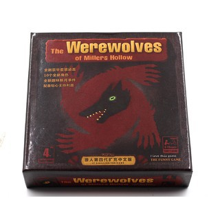 Bài Ma Sói – The Werewolves Of Millers Hollow Boardgame