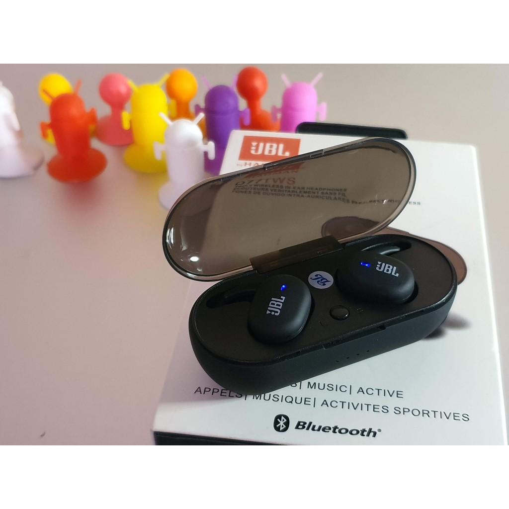 Tai Nghe Bluetooth D77 Nút Cảm Ứng Thế Hệ Mới, Âm Thanh Siêu Đỉnh, Chống Nước 100%SIÊU HOT