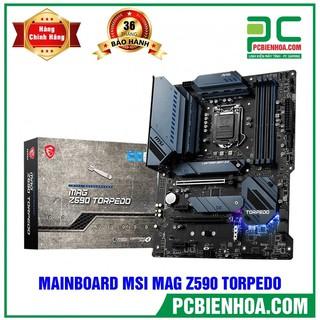 MAINBOARD MSI MAG Z590 TORPEDO ( LGA1200 ATX 4XDDR4 ) thumbnail