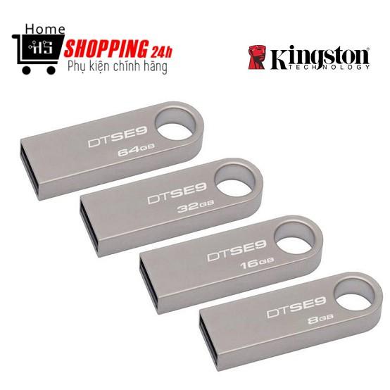 Usb Lưu Trữ Kingston Se9 4GB - 8GB - 16GB - 32GB