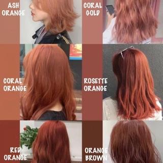 [SALE 30%] Thuốc nhuộm tóc hàn quốc tone màu cam FB Thuốc Nhuộm Tóc thumbnail