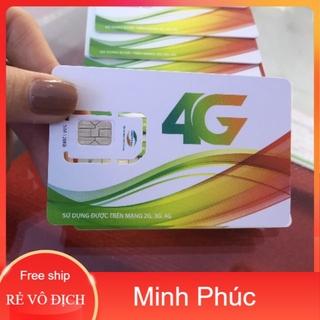 Sim viettel 4G trọn gói vào mạng 1 năm miễn phí
