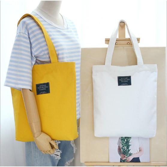 Túi vải tote hàng Quảng Châu