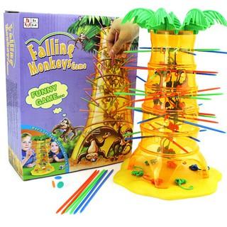 bộ đồ chơi rút khỉ leo cây