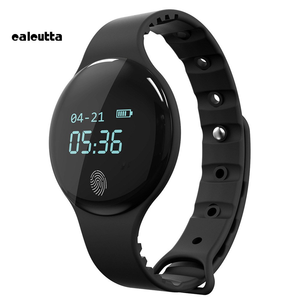 ✡CAL✡Large Screen Bluetooth Smart Watch Sleep Monitor Pedometer Call Massage Reminder