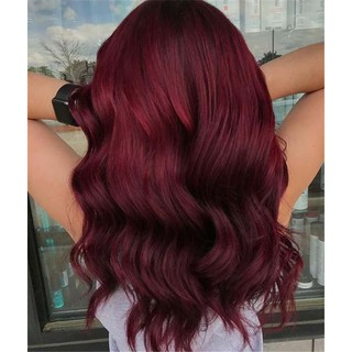 Kem nhuộm tóc màu đỏ Molokai 60ml TẶNG KÈM GĂNG TAY + CHAI OXY TRỢ DƯỠNG - Pretty Valley thumbnail