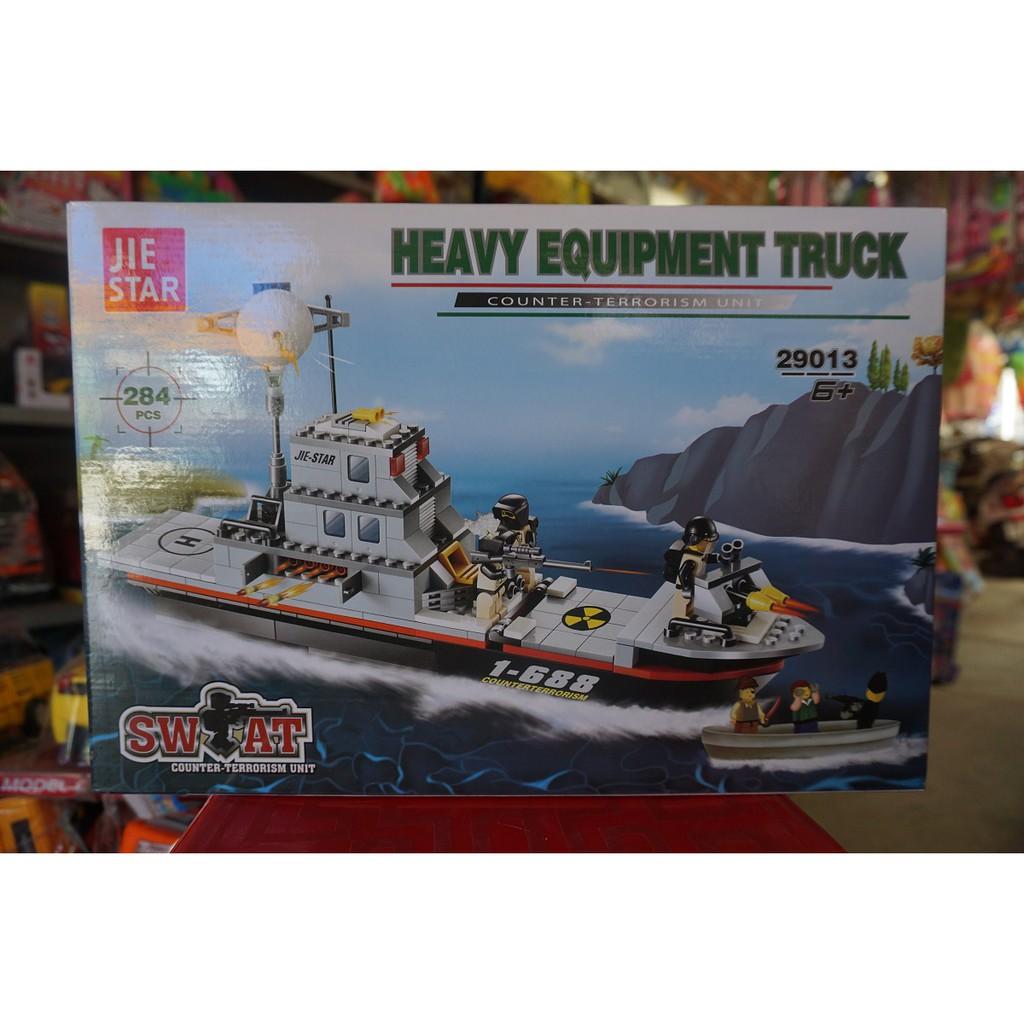 LEGO TÀU CHIẾN HEAVY EQUIPMENT NO.29013