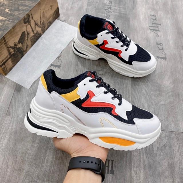 [FreeShip - Hàng xịn] Giày thê thao nam, giày nam độn đế tăng chiều cao 5 cm G038