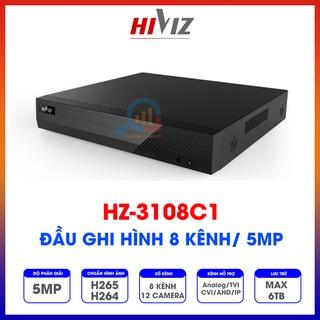Đầu ghi hình Hiviz - HZ-3108C1 8 kênh 5MP, hỗ trợ camera Analog TVI CVI AHD IP - Chính hãng - Bảo hành 24 tháng thumbnail