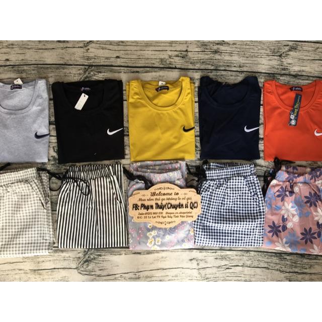 Sét áo thun + quần kaky