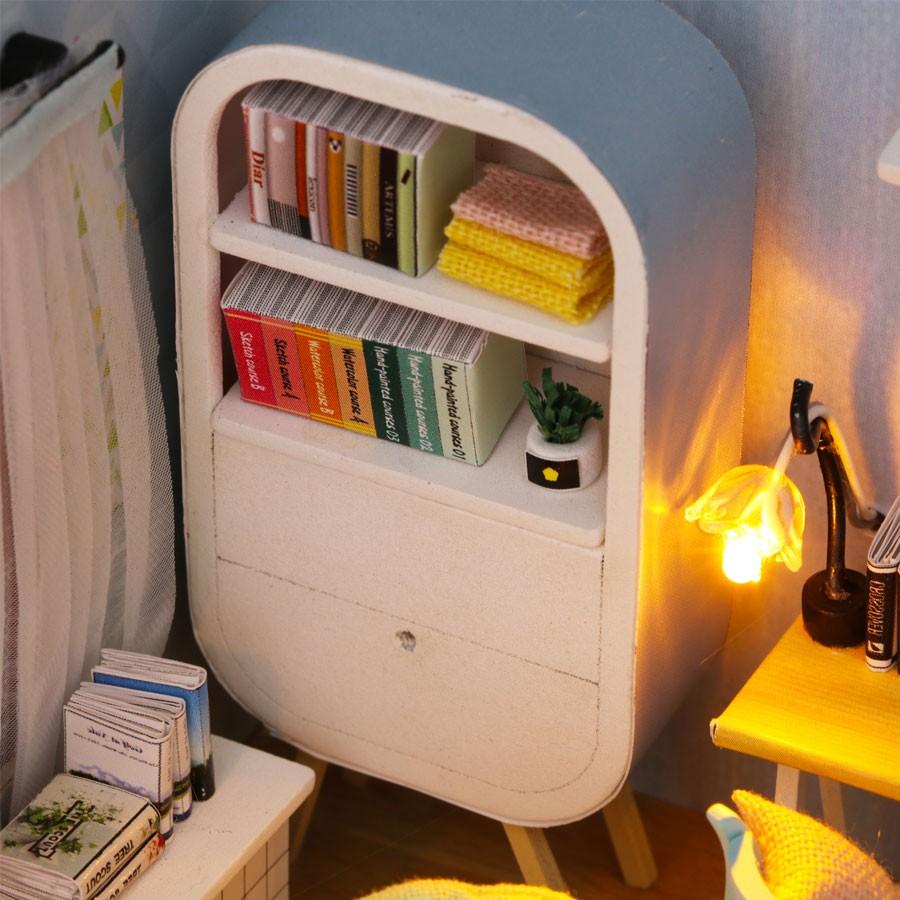 Nhà búp bê Mô hình láp ghép DIY DING DONG NEST S903