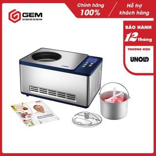 Máy làm kem UNOLD 48818  - Làm kem nhanh, có chức năng hẹn giờ.