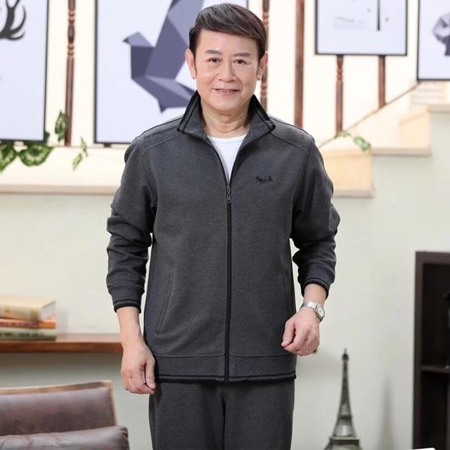 Bộ quần áo su thể thao trung niên