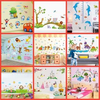 Yêu Thích+[ NHIỀU MẪU HOT ] Decal dán tường cho bé-Tranh decal dán tường trang trí phòng cho bé