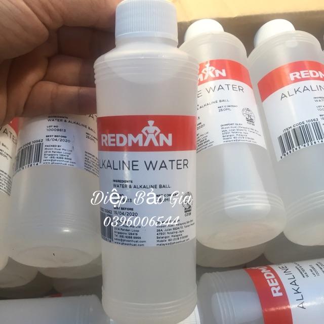 [Mã 159FMCGSALE giảm 8% đơn 500K] Nước tro tàu Red Man 250ml