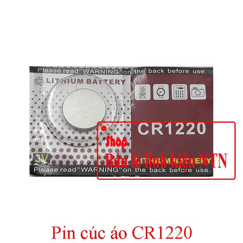 Pin CR1220