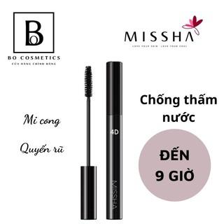 Chuốt Mi Mascara 4D Missha The Style Làm Dài Mi, Không Lem, Chống Thấm [Mẫu Mới]