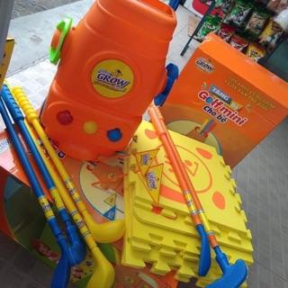 Bộ đồ chơi dụng cụ đánh golf-quà tặng sữa Aboot grow
