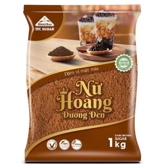 Đường đen Biên Hoà 1kg pha trà sữa