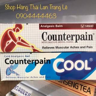 Dầu Xoa Bóp Counterpain Nóng Lạnh 120g ( tuýp lớn nhất) thumbnail
