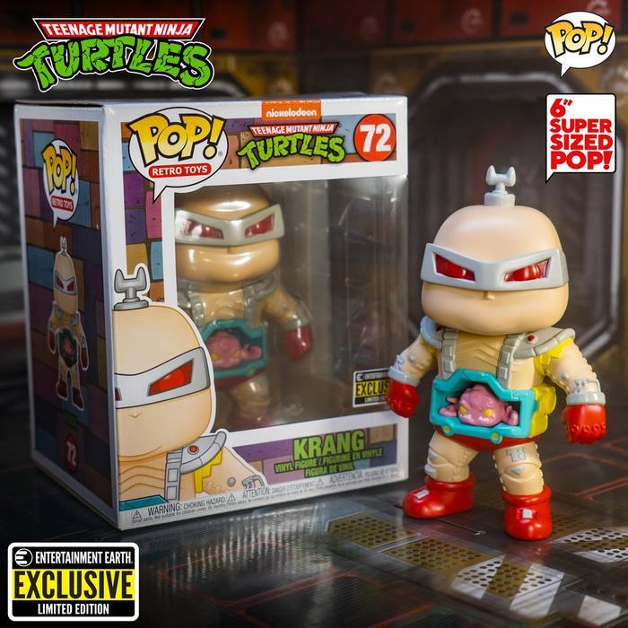 Đồ chơi mô hình funko pop 72 Krang (6-Inch) – Ninja Turtles
