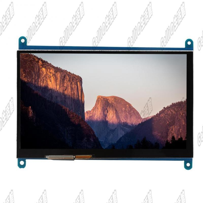 Giá Sỉ◎◐▽Ngõ hình LCD 7 inch HDMI 1024x600 full HD cảm ứng điện năng cho Raspberry Pi